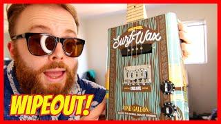 WIPEOUT! (SURF MUSIC ELECTRIC UKULELE TUTORIAL) - rock and roll music ukulele