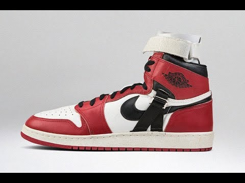 Every air jordan shoe michael jordan wore on court part 1 nike air jordan 1 youtube - Photos of all jordan shoes ...
