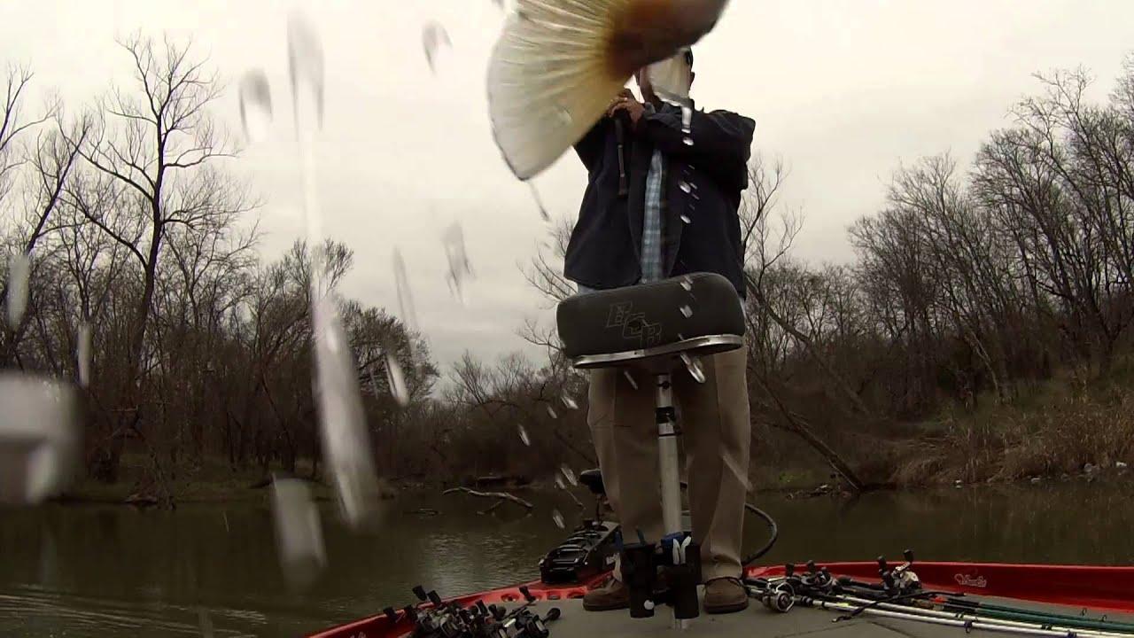 Bass Fishing Pre Spawn Joe Pool Lake Texas 14 Mar