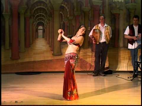 Maia Alexandra (Buffalo NY) American Cabaret bellydance - Rakkasah West 2011