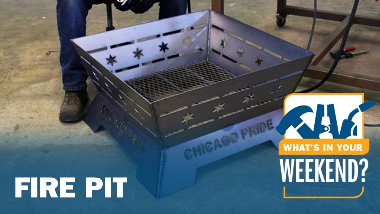 - Fire Pit Welding Project - YouTube