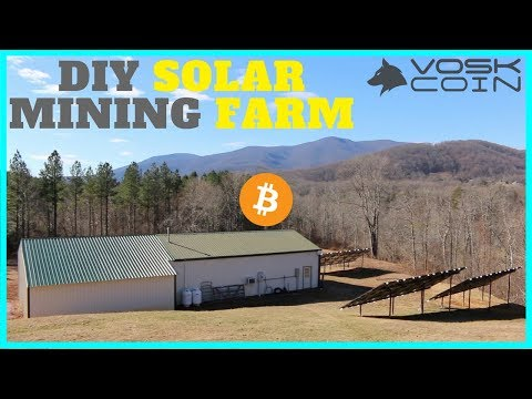 Cryptocurrency Solar Mining Farm - Inside the Operations of a Secret Crypto Farm