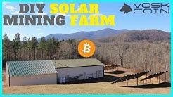 Cryptocurrency Solar Mining Farm - Inside the Operations of a Secret Crypto Farm