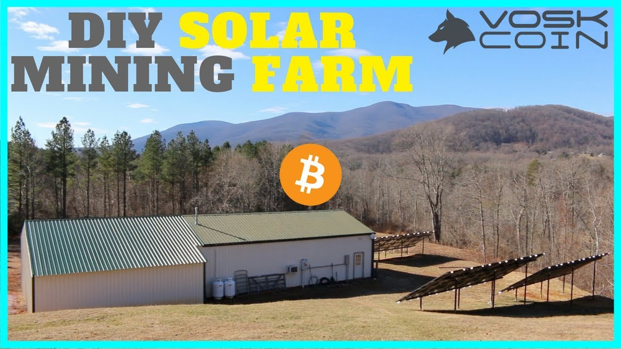 Cryptocurrency Solar Mining Farm Inside The Operations