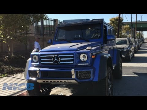 Fraud Files: 34 Mercedes-Benz's Seized at the Port of Los Angeles