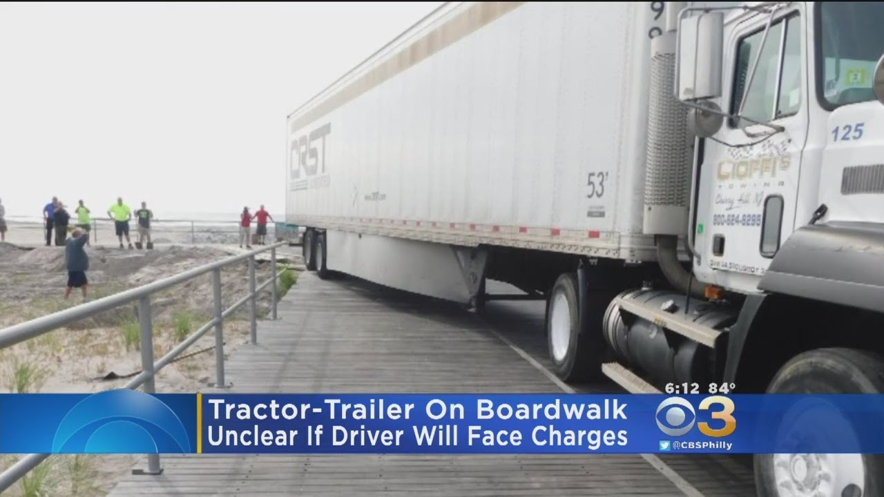 Dissertation tractor trailer turning