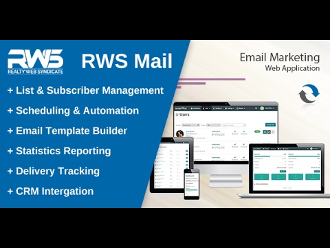 Introducing RWS Mail - New Email Marketing Web Application
