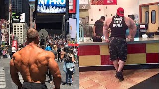 When a Huge Bodybuilder Goes In Public !!