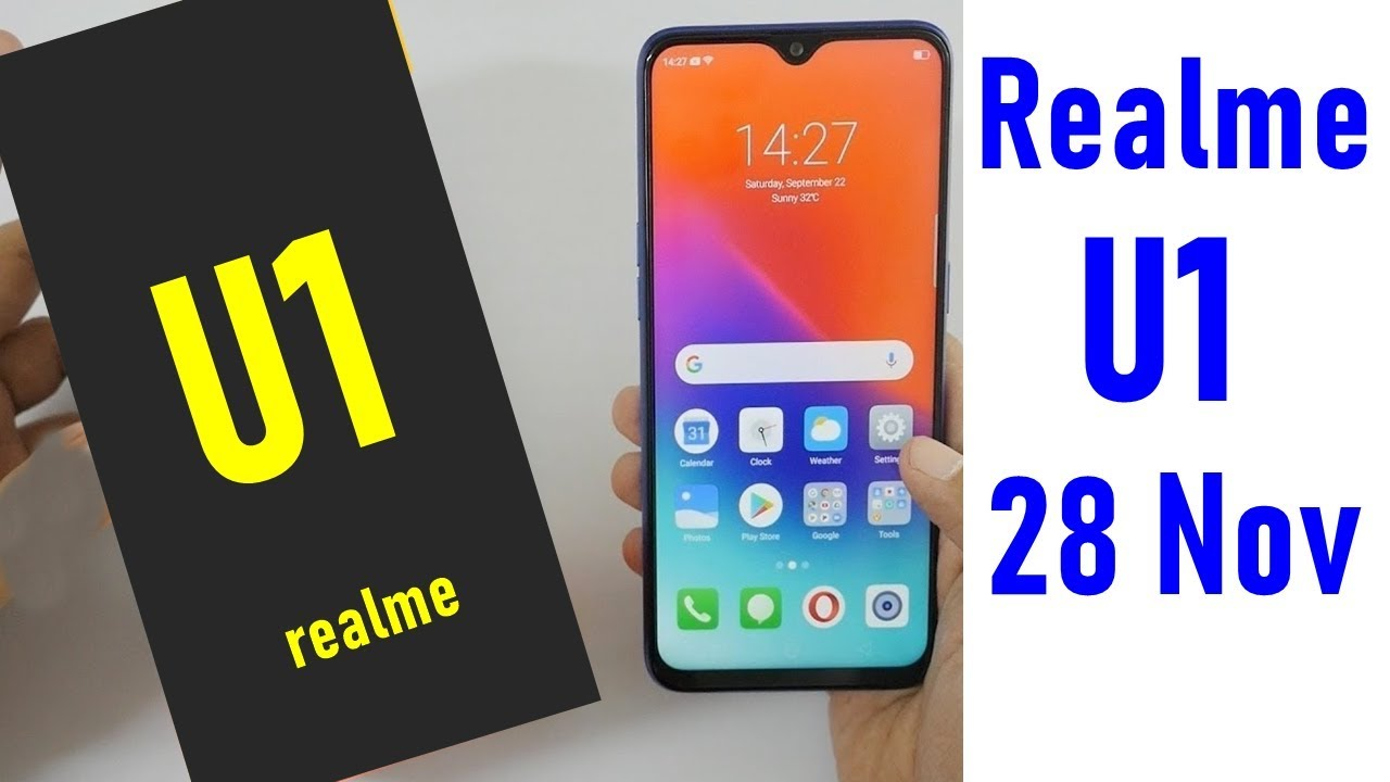 Realme U1 Offers, Open Sale: Buy Realme U1 @ Rs 10999 From