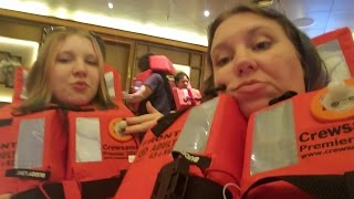 Day 1 Cabin & Sailaway (w/Love Boat HORN!!) Royal Princess Cruise Vlog [ep5]