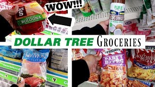 DOLLAR TREE GROCERY SHOPPING!!! WHAT YOU CAN GET FOR $1.00