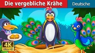 Die vergebliche Krähe   Gute Nacht Geschichte   Deutsche Märchen