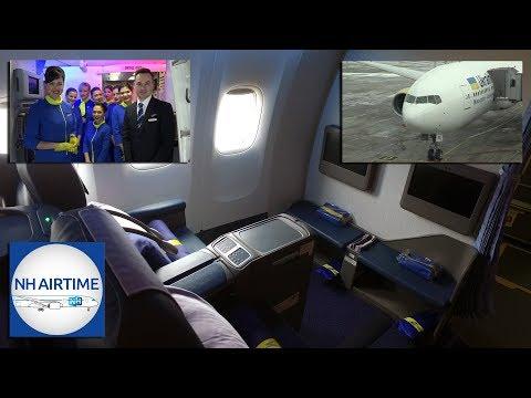 UKRAINE INTERNATIONAL FIRST BOEING 777-200ER; AIRCRAFT REVIEW