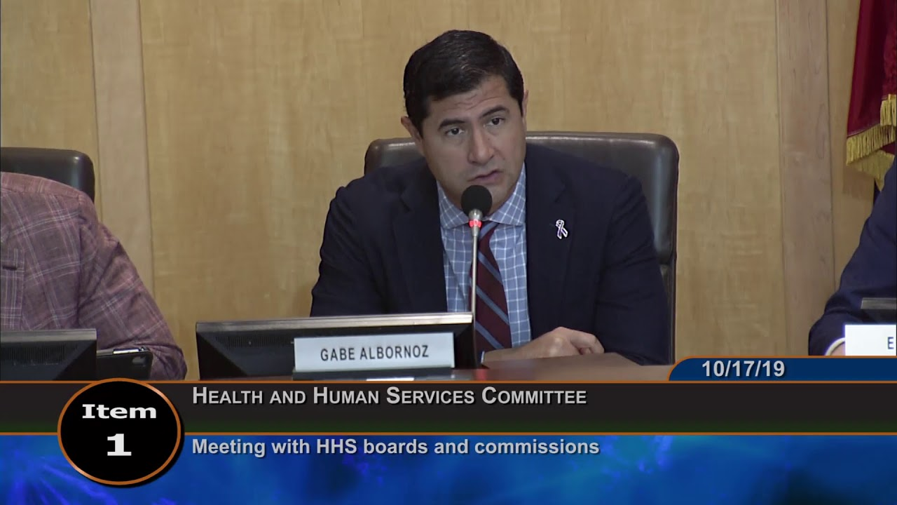 October 17, 2019 – HHS Committee Worksession