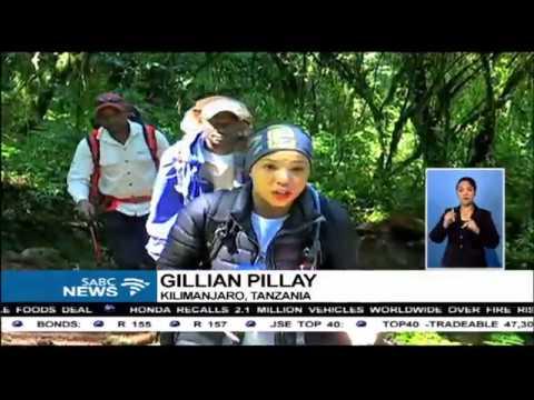'Trek for Mandela' climbers reach their first milestone
