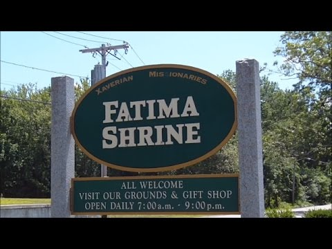 Blessed Mother Mary ~ Fatima Shrine ~ VR: Spiritchannel ~ Holliston Ma