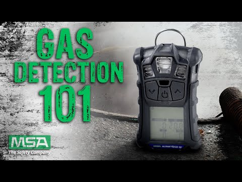 Gas Detection 101 With MSA Safety Gas Detectors