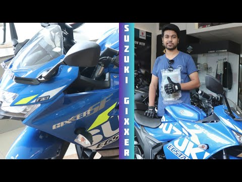 Suzuki Gixxer SF 155 - Racing Blue Colour - Review