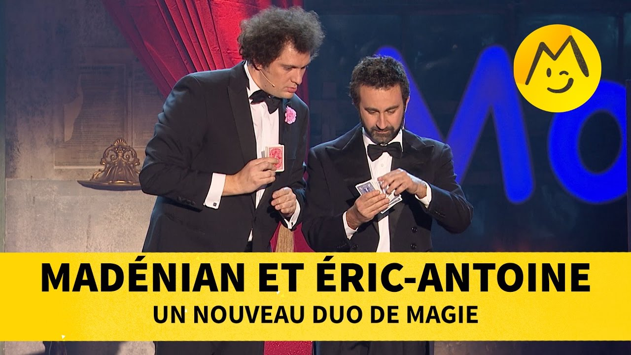 Madénian et Eric Antoine - Un nouveau duo de magie