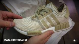 info for 72982 13fb6 Unboxing Adidas NMD R1 PK Linen Khaki BY1912