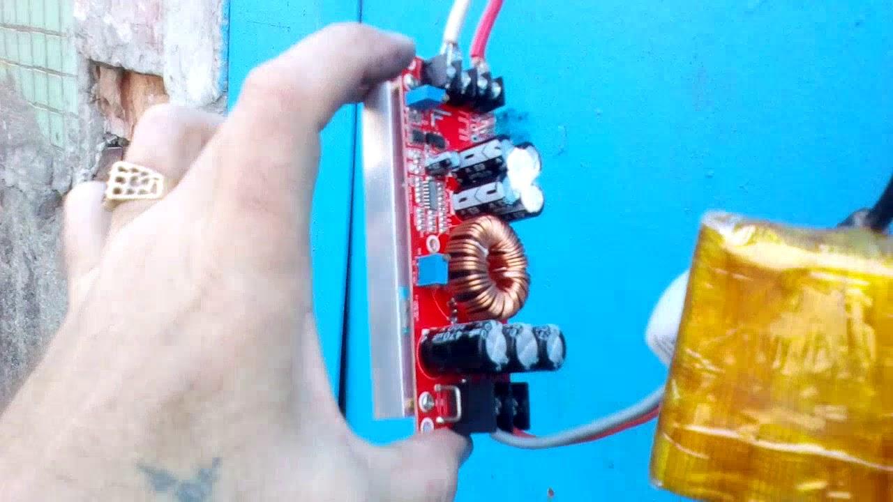 Аккумуляторный триммер своими руками фото 792