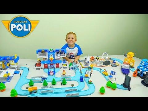 Робокар поли игрушечный мультфильм