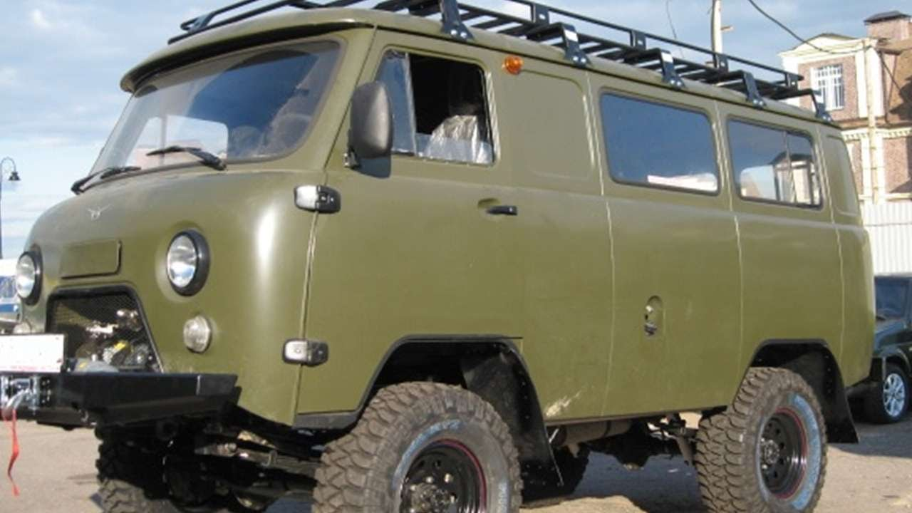1058 uaz 452 brick russian auto tuning youtube. Black Bedroom Furniture Sets. Home Design Ideas