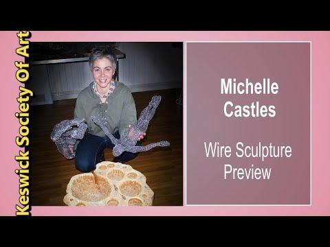 Michelle Castles Wire Sculpture Short Preview