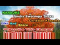 Download Karaoke sneha sworoopa thava christian song MP3 song and Music Video