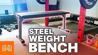 How to Make a DIY Weight Bench // Home Gym