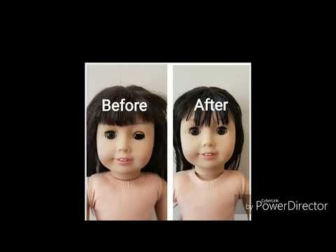 How To Remove And Fix Broken Eye Of American Girl Doll