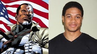 "Batman/Superman Casts ""Cyborg"""