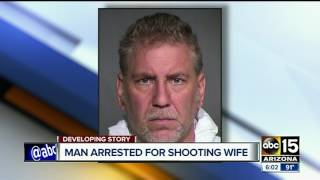 Husband shoots wife in back of head because face is