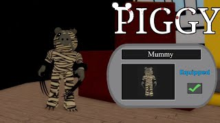 MUMMY SKIN *UNLOCKED* H๐w To Get BADGE & MUMMIFIED PIGGY RP SKIN (ROBLOX)
