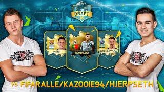 FIFA 16 FUT DRAFT : FeelFIFA vs. Hjerpseth, FifaRalle & Kazooie