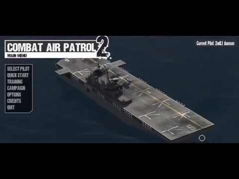 Combat Air Patrol 2 (v802) - take off, bombing and landing on moving LHD