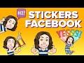 Crea STICKERS Con TU CARA En FACEBOOK Y MESSENGER!! (tu Avatar En Facebook)   ChicaGeek