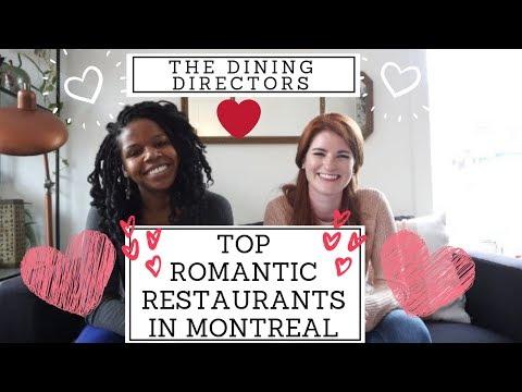 TOP ROMANTIC RESTAURANTS IN MONTREAL ⎥The Dining Directors