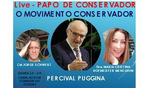 LIVE - PAPO DE CONSERVADOR  -  O MOVIMENTO CONSERVADOR. #Live 06