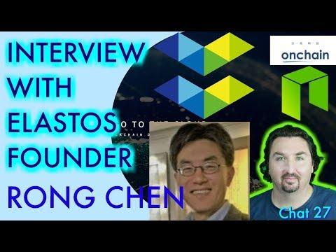 Interview with Elastos Founder Rong Chen. NEO CRYPTO NEWS - ONCHAIN ELASTOS