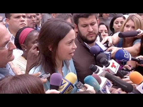 Venezuela protest leader Maria Corina Machado charged with plot to kill President Maduro