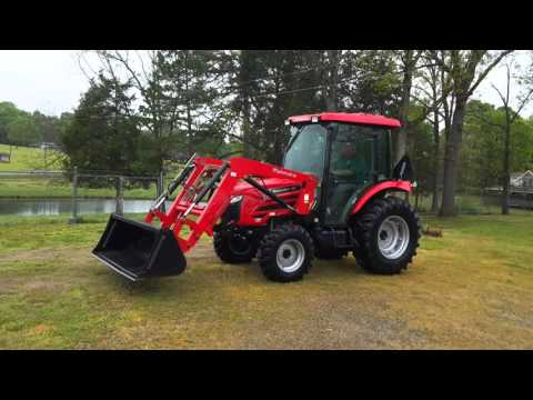 2014 Mahindra 5010 Cab/Loader, Only 60hrs! $28500 Monroe, NC, USA