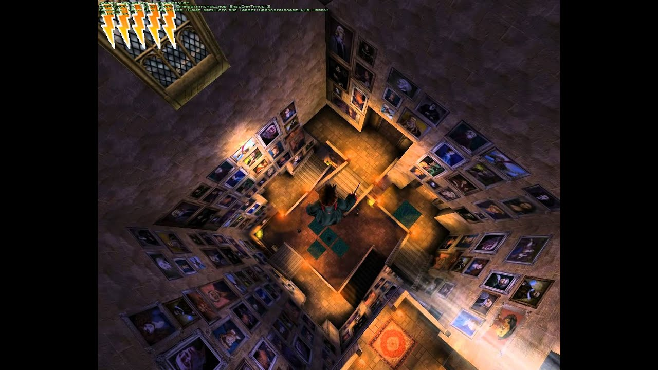 Прикол в игре Гарри Поттер и Тайная Комната - YouTube