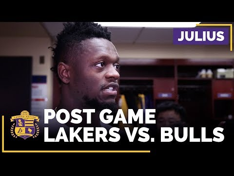 Julius Randle On Uptick In Minutes, Sparking Lakers Comeback