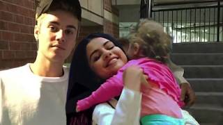 Justin bieber and selena gomez with a baby? who's baby is that?