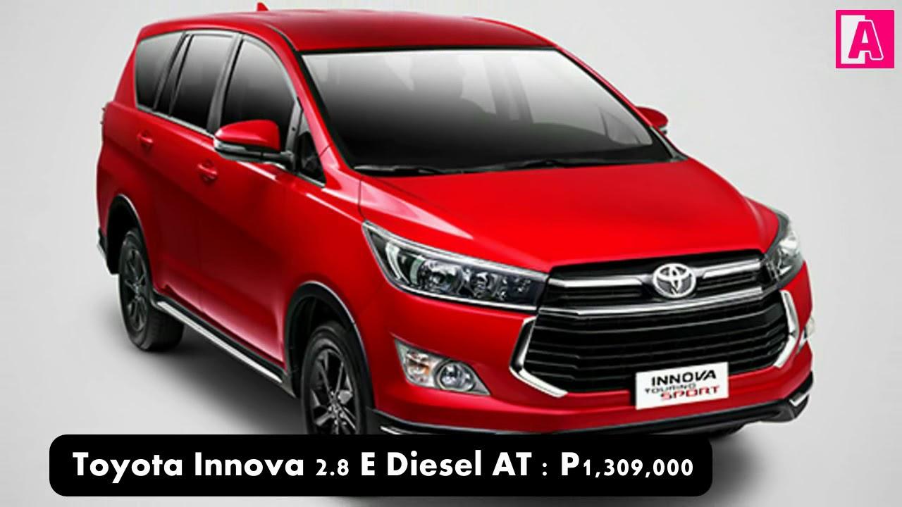 Toyota Innova Philippines Price List >> Toyota Innova Philippines Price List Promo Youtube