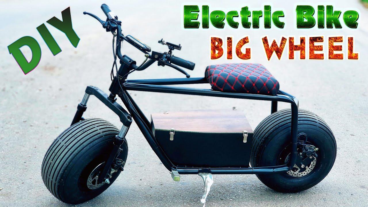 Build a Electric Bike Big Wheel 60v 1500W 55km/h At Home