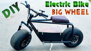 Build a Electric Bike Big Wheel 60v 1500W 55km/h At Home