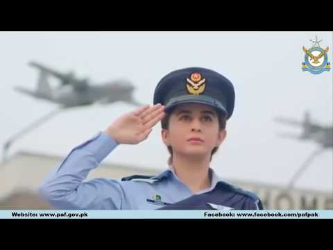 Pakistan Air Force New National Song 14 August 2018