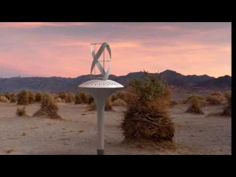 This Wind powered Water Seer pulls 11 gallons of clean Drinking Water from Thin Air
